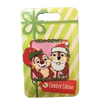 Disney Holiday Pin - 2018 Season's Greetings - Chip n Dale