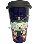 Disney Travel Tumbler - Epcot 2018 Festival of the Holidays