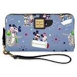 Disney Dooney & Bourke Bag - Mickey and Minnie Attractions - Wallet