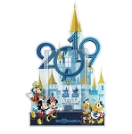 Disney Photo Frame Magnet - 2019 Walt Disney World Castle