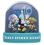 Disney Snow Globe - 2019 Mickey and Friends - Walt Disney World - Dome