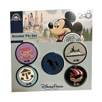 Disney Booster Pin Set - 2018 Mickey Mouse and Friends