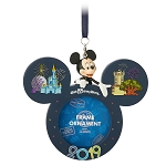 Disney Photo Frame Ornament - 2019 Dated - Walt Disney World