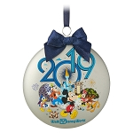 Disney Blown Glass Ornament - 2019 Dated - Mickey and Friends