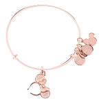 Disney Alex & Ani Bracelet - Minnie Mouse Ears Headband - Rose Gold