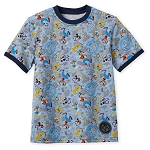 Disney Child Shirt - 2019 Mickey Mouse and Friends Ringer