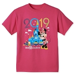 Disney Shirt for Girls - 2019 Walt Disney World - Minnie Mouse