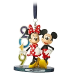 Disney Figure Ornament - 2019 Mickey and Minnie - Walt Disney World