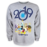 Disney Adult Sweatshirt - 2019 Mickey Mouse and Friends - Fleece