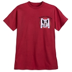 Disney T-Shirt for Adults - Mickey Mouse Club Mouseketeers Logo - Red