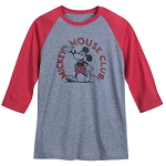 Disney Shirt for Adults - Mickey Mouse Club - Raglan