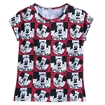 Disney T-Shirt for Women - Mickey Mouse Club Allover Print