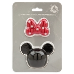 Disney Salt and Pepper Shaker Set - Minnie Mouse Stackable