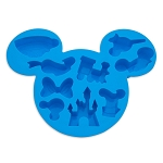 Disney Ice Cube Tray - Mickey Mouse Silicone - Disney Park Icons