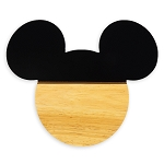 Disney Cheese Cutting Board - Mickey Mouse Silhouette - Wood