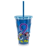 Disney Tumbler with Straw - 2019 Mickey Mouse and Friends