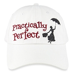 Disney Hat - Baseball Cap - Mary Poppins - Practically Perfect