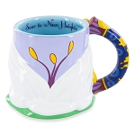 Disney Coffee Mug - Jasmine Lotus Flower Sculpted