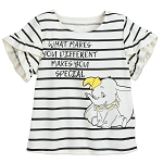 Disney Shirt for Girls - Dumbo - Different Makes You Special