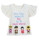 Disney Shirt for Girls - It's Small World - Make it Big