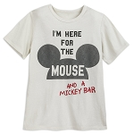 Disney Shirt for Kids - Mickey Mouse - I'm Here for the Mouse