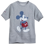Disney Shirt for Kids - Classic Mickey Mouse - Disney Parks - Gray