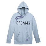 Disney Pullover Hoodie for Women - Disney Parks - Dreams - Gray