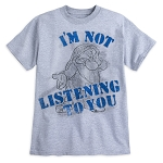 Disney T-Shirt for Adults - Grumpy - I'm Not Listening to You