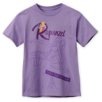 Disney Shirt for Girls - Rapunzel - Tangled Hair, Don't Care