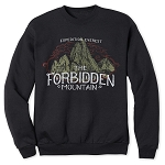 Disney Sweatshirt for Adults - Forbidden Mountain - Expedition Everest