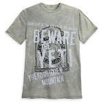Disney Adult Shirt - Beware the Yeti - Expedition Everest - Gray