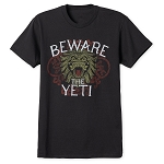 Disney Shirt for Adults - Yeti - Expedition Everest - Black
