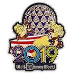 Disney 2019 Pin - Chip n Dale - Walt Disney World