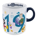 Disney Coffee Mug - 2019 Dated - Mickey Mouse and Friends