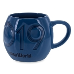 Disney Coffee Mug - 2019 Walt Disney World - Mickey Mouse - Blue