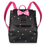 Disney Loungefly Backpack - Minnie Mouse with Polka Dots - Mini