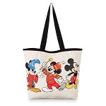 Disney Tote Bag - Mickey Mouse Through the Years - Canvas