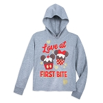 Disney Girls Hoodie - Mickey & Minnie Cupcakes - Love at First Bite