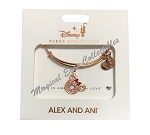 Disney Alex & Ani Bracelet - Disney Treats - Minnie Donut - Rose Gold