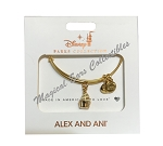 Disney Alex & Ani Bracelet - Dole Whip Ice Cream - Gold