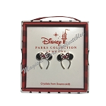Disney Post Earrings - Minnie Mouse Ear Headband - Silver