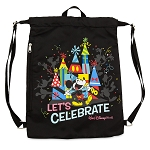 Disney Cinch Sack Bag - Celebration of the Mouse - Walt Disney World