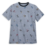 Disney Shirt for Men - Mickey Through the Years - Mickey All Over