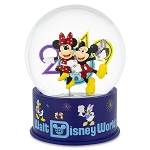 Disney Snow Globe - 2019 Mickey and Minnie Mouse - Resin