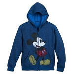 Disney Child Zip Hoodie - Classic Mickey Timeless - Navy