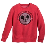 Disney Child Pullover - Mickey Mouse Club - Roll Call - Red