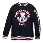 Disney Pullover for Men - Mickey Mouse Club Logo - Black