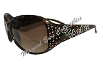 Disney Sunglasses - Minnie Bows - Crystal Jeweled - Brown