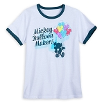 Disney T-Shirt for Women - Mickey Balloon Makers - White