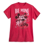 Disney Shirt for Adults - Mickey and Minnie Mouse - Be Mine